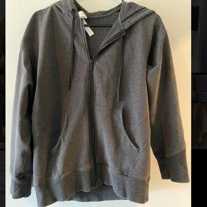 Lululemon gray zip-up hoodie